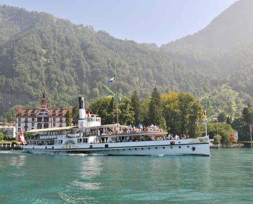 Dampfschiff Uri - Vierwaldstaettersee