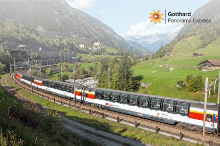 Premium Panoramic Trains - Gotthard Panorama Express