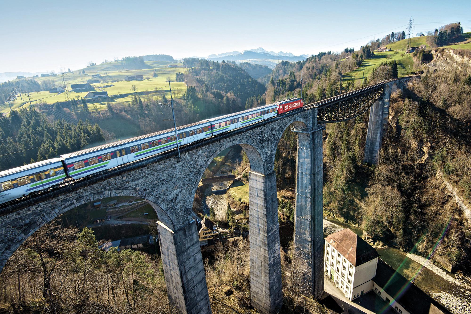 Voralpen-Express - Sitter Viaduct