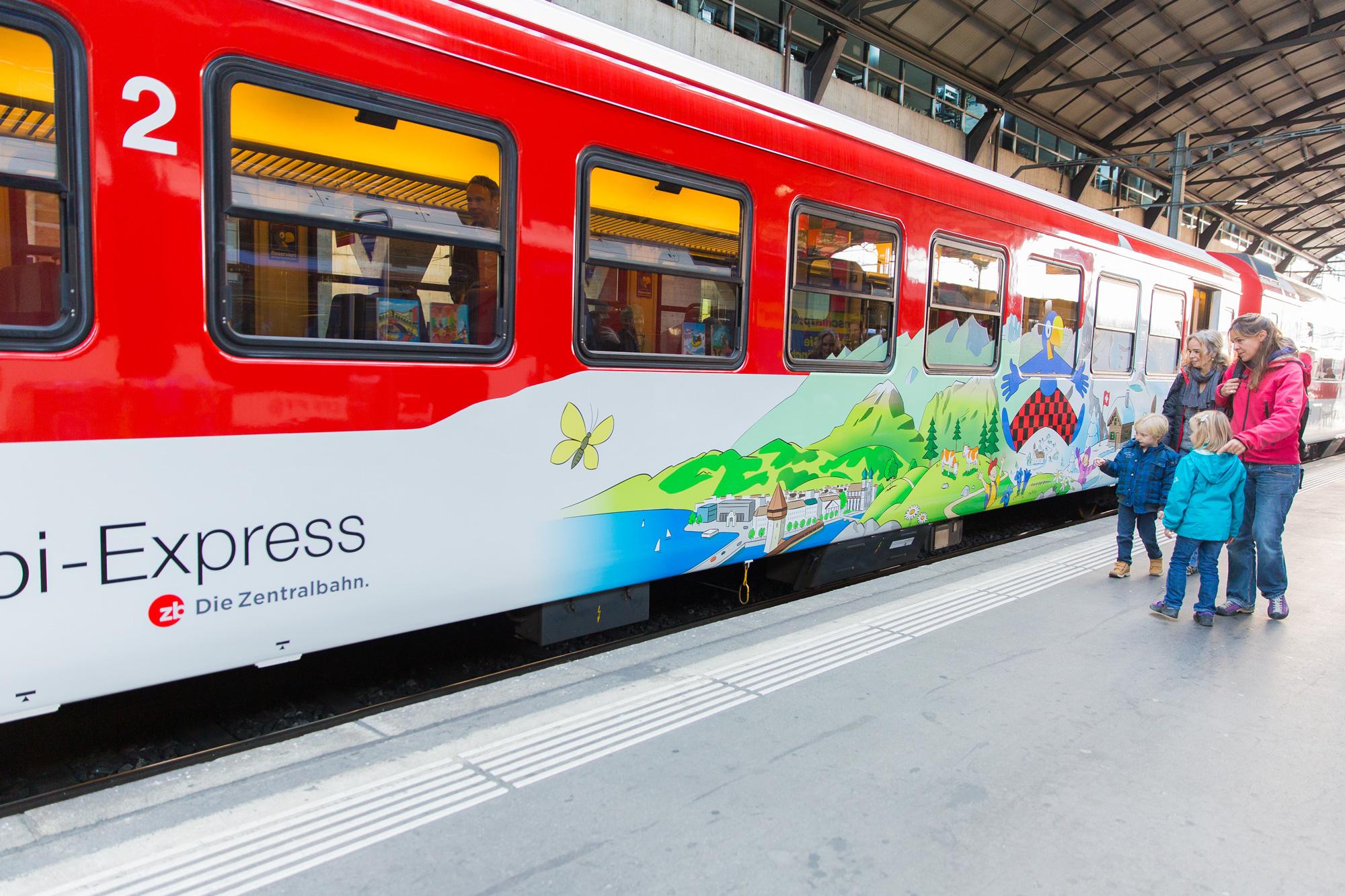 Zentralbahn - Globi-Express