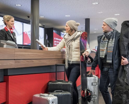 Luggage Services for Traveling within Switzerland