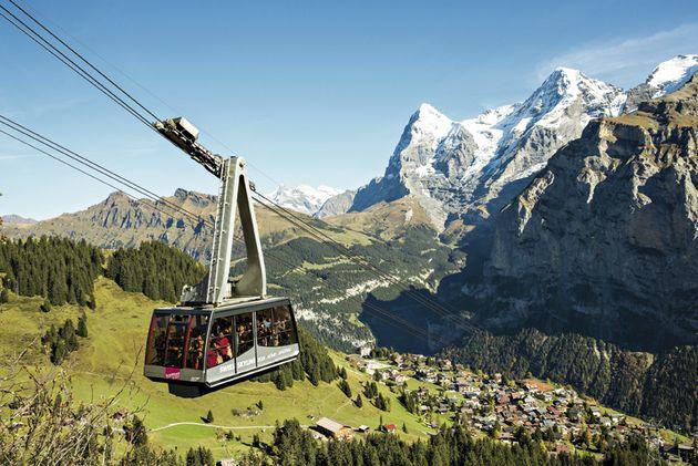 New Schilthorn Boarding Pass