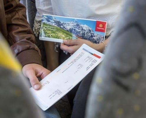 Swiss Transfer Ticket