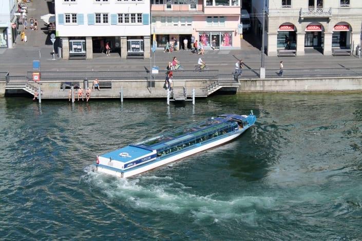 ZSG Limmat Boat