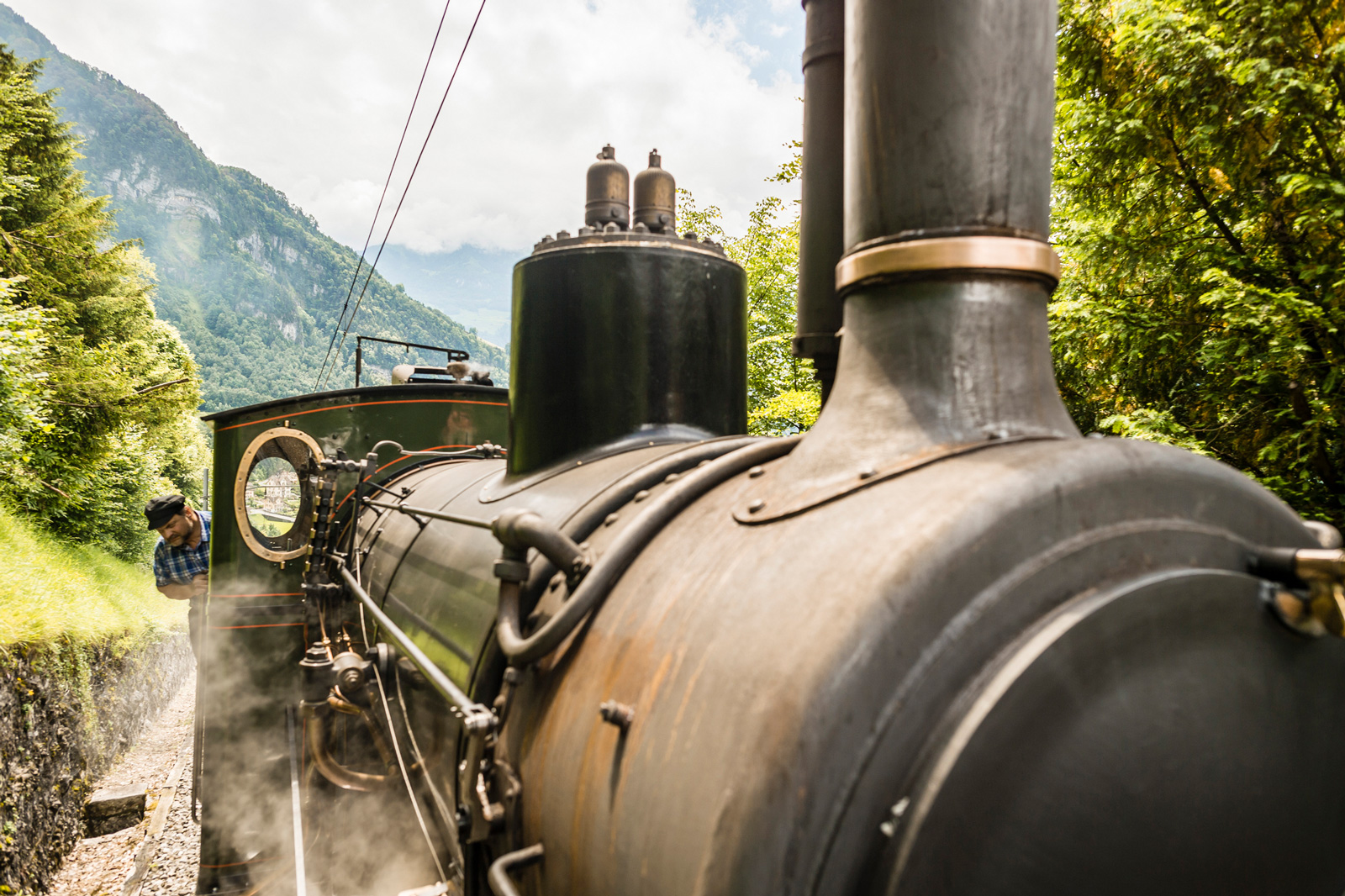 Rigi Steam Engine