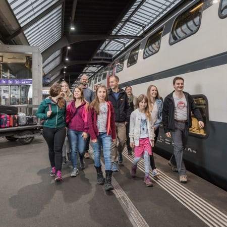 Group Reservations - Swiss Travel System