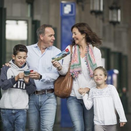 Swiss Family Card
