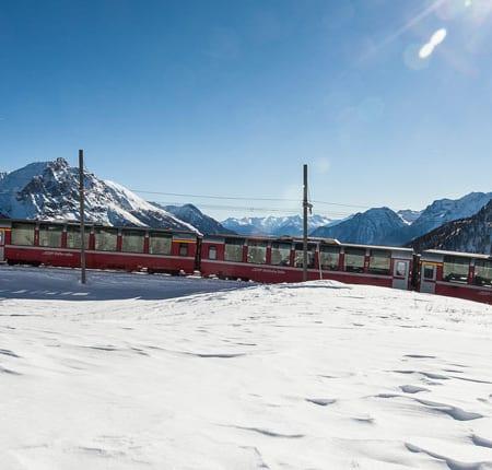 Bernina-Express-Winter