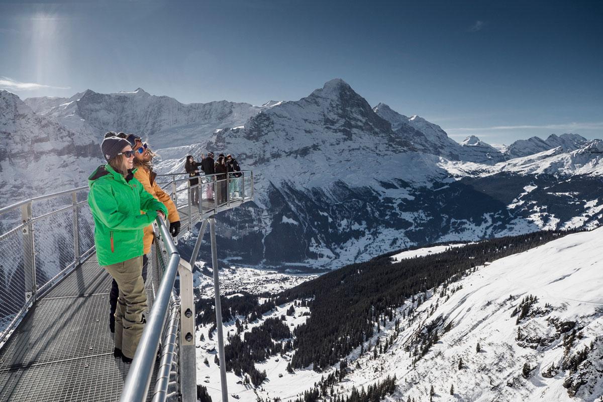 Grindelwald First im Winter