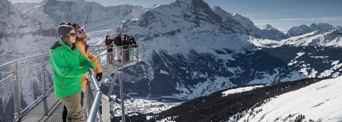 Grindelwald First in winter
