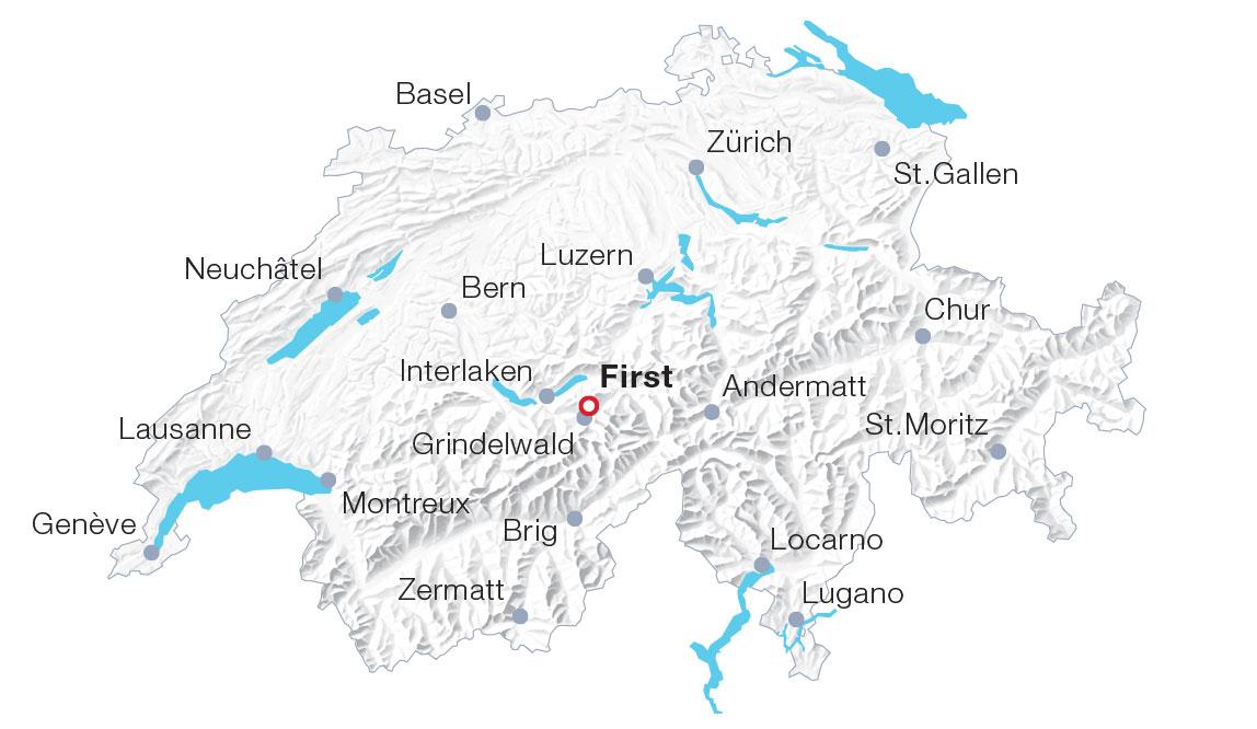 Karte Grindelwald First