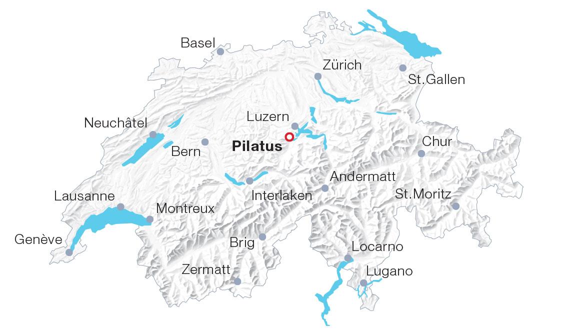 Map Pilatus