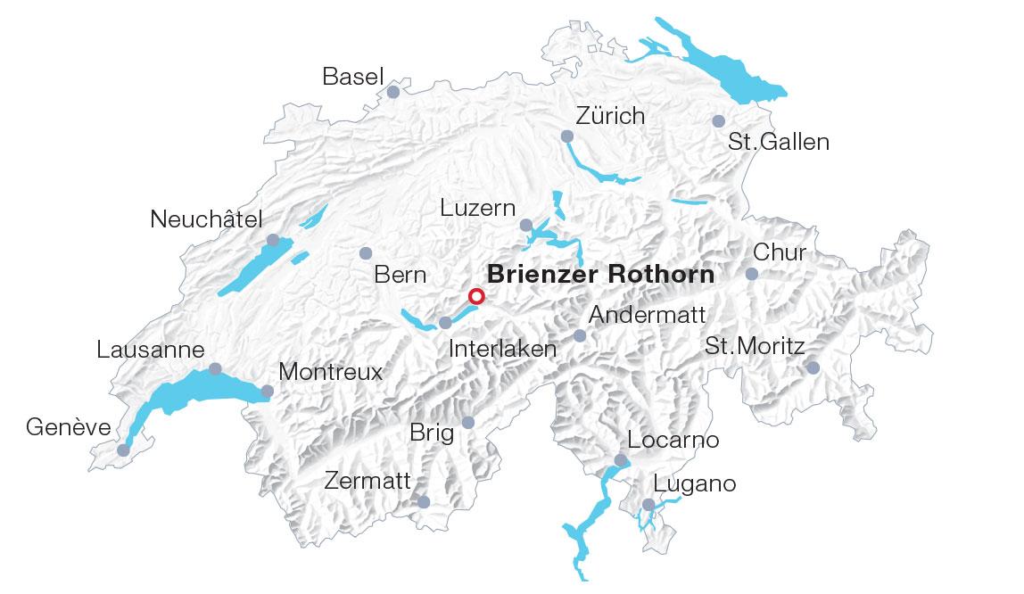 Karte Brienzer Rothorn