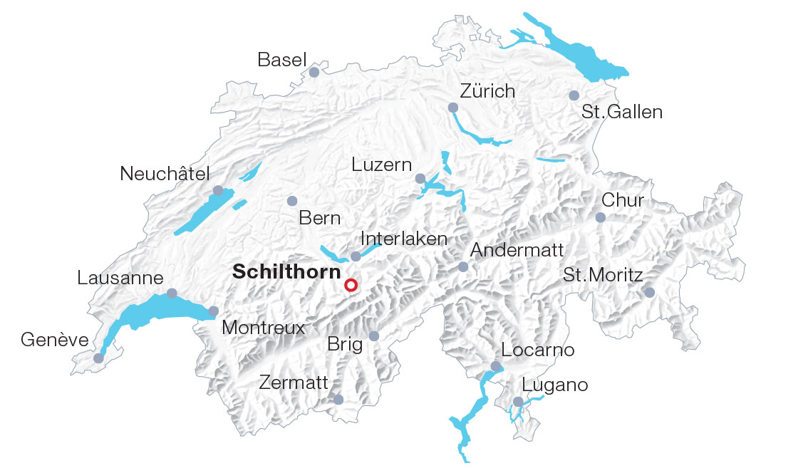 Map Schilthorn