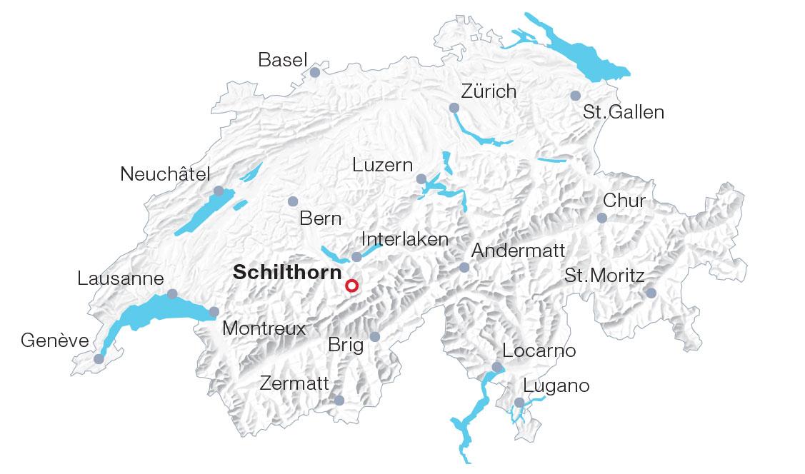 Karte Schilthorn