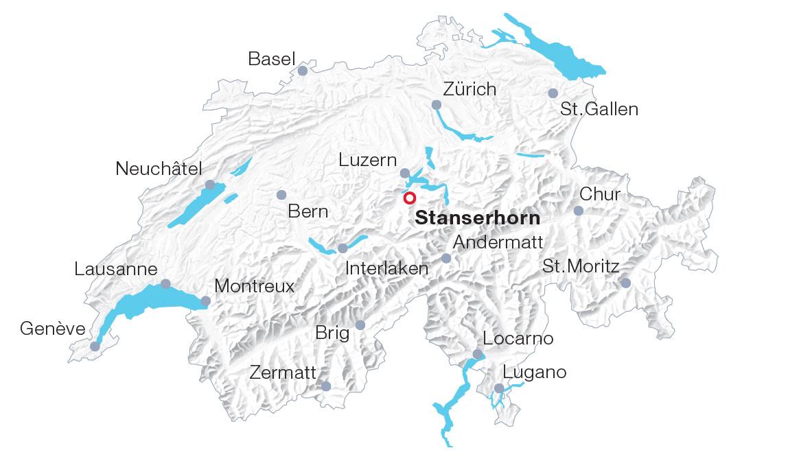 Karte CabriO Stanserhorn
