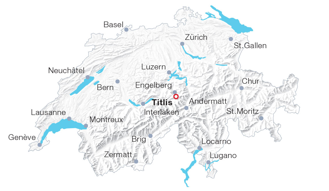 Karte Titlis
