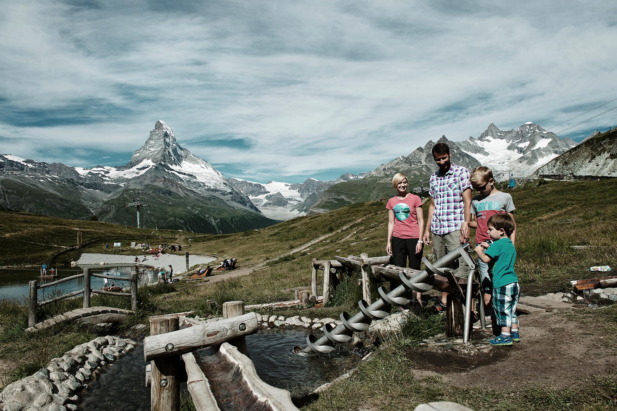 Sunnegga, Zermatt