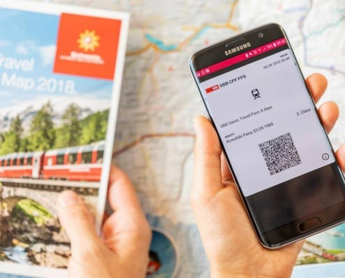 Swiss Travel Pass - Area of Validity 2019