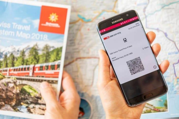 Swiss Travel Pass - Area of Validity 2019