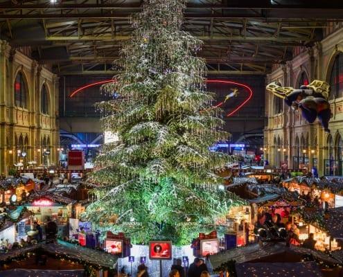 Zurich Main Station Christmas Market