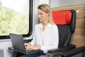Reise im Railjet