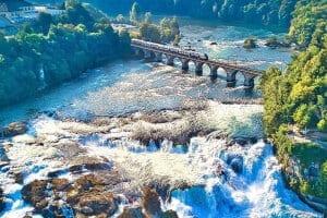 The Rhine Falls (© instagram.com/drones_addiction)