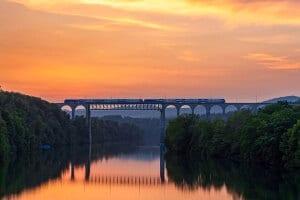 Railway bridge Eglisau (© instagram.com/lukas.schlagenhauf)