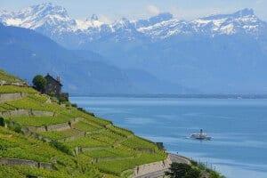 Steamboat on Lake Geneva