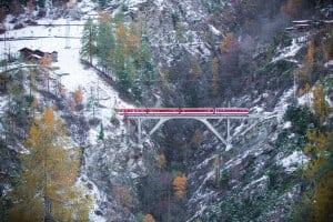 Mühlebach bridge between Kalpetran and Stalden (Valais)