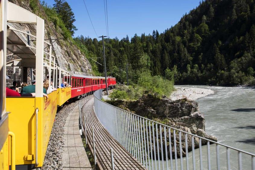 Aussichtswagen Rhätische Bahn
