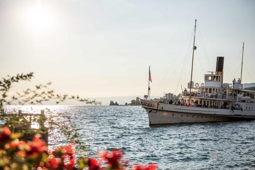 Boat ride on Lake Geneva