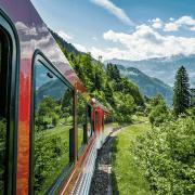 Rigi Railways in summer