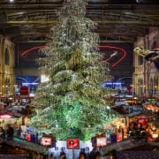 Christmas market at Zurich main station