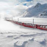 Grand Train Tour of Switzerland im Winter