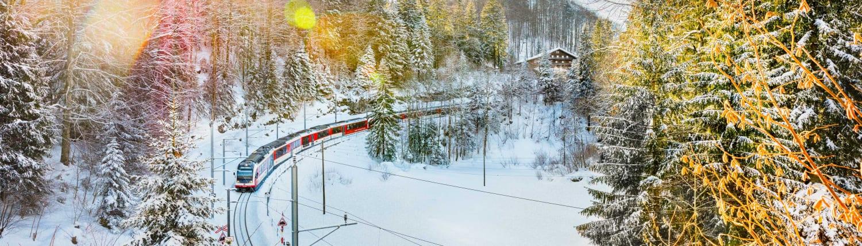 Luzern–Interlaken Express im Winter